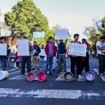 MÉXICO, D.F., 16DICIEMBRE2015.- Habitantes de la colonia Buenos Aires se manifestaron para pedir agua potable, esto en Eje Central y la calle  Toribio. FOTO: ARMANDO MONROY /CUARTOSCURO.COM
