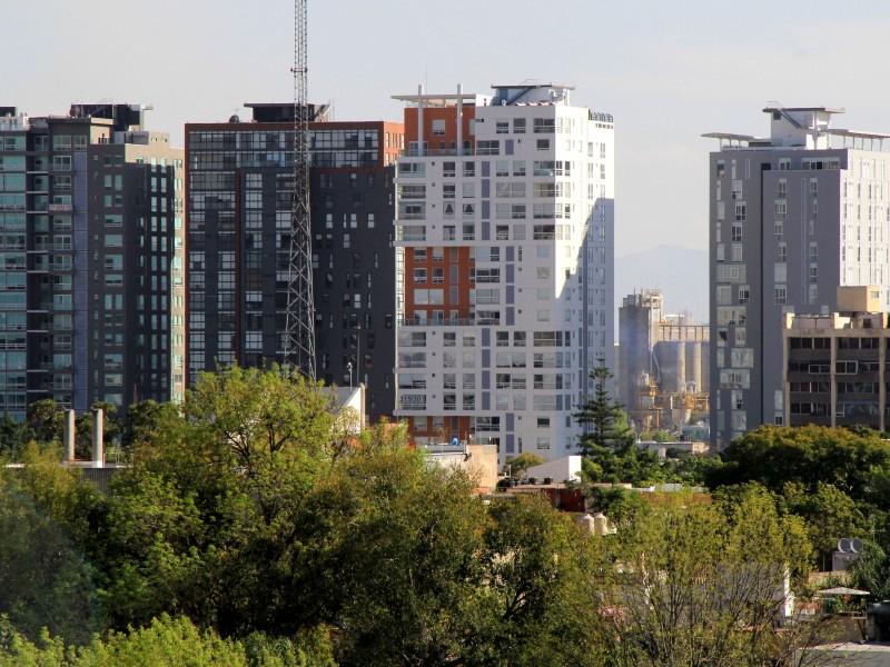 Edificios planes parciales, zona chapultepec.  Foto: Héctor Jesús Hernández