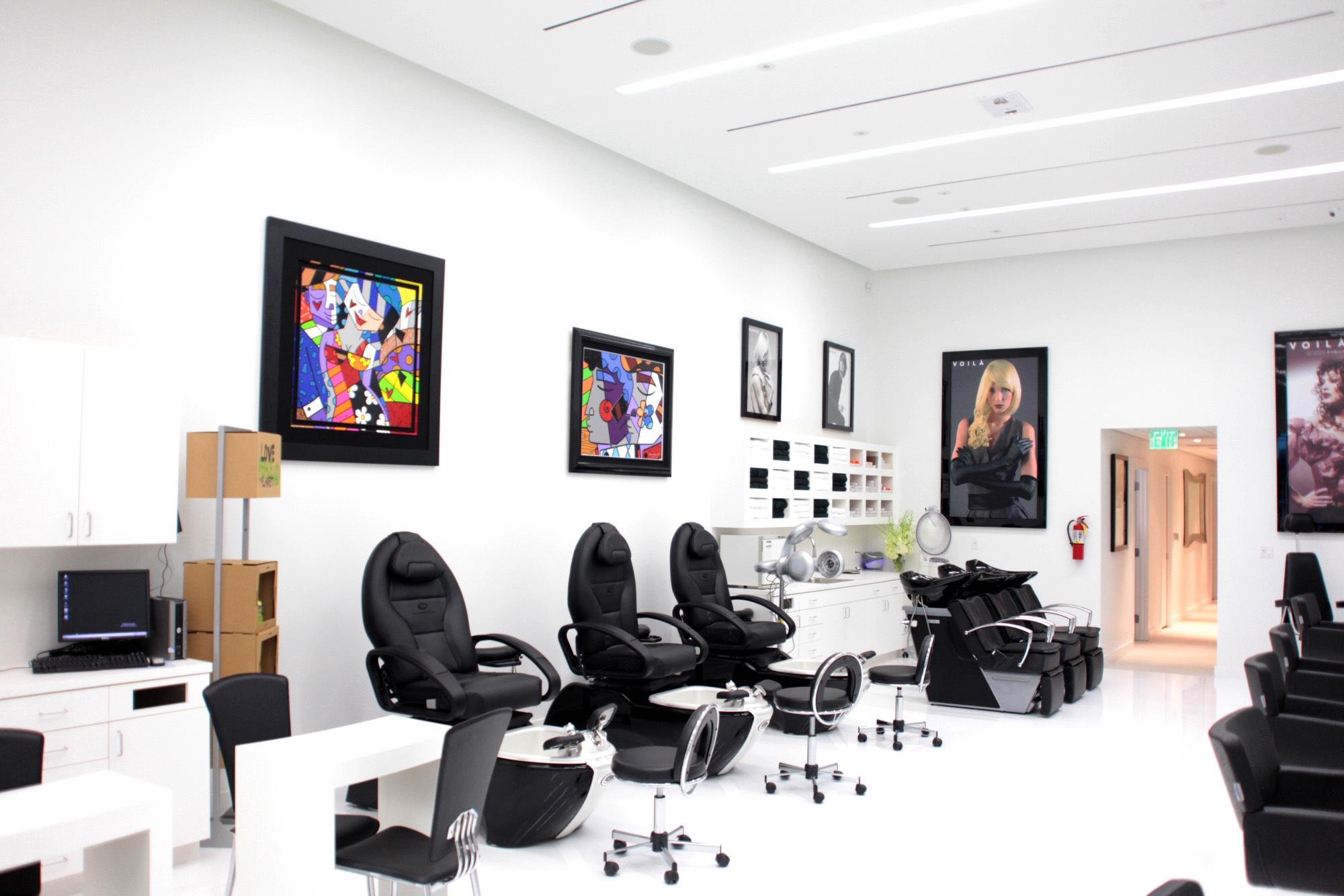 Salones de belleza decoracion - Decoracion de paredes para salones ...