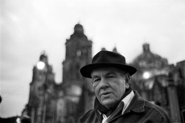 Héctor García, fotógrafo. 1993.Fotografía: Marco Antonio Cruz