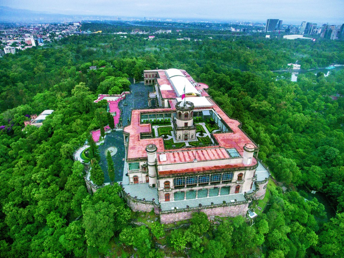Drones Castillo Chapultepec Las Alturas on Parent Group