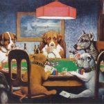 perros y poker