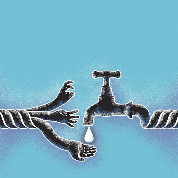 La Coordinadora Nacional Agua Para Todos planteará una propuesta de ley de agua. Arte: Andree Ávalos