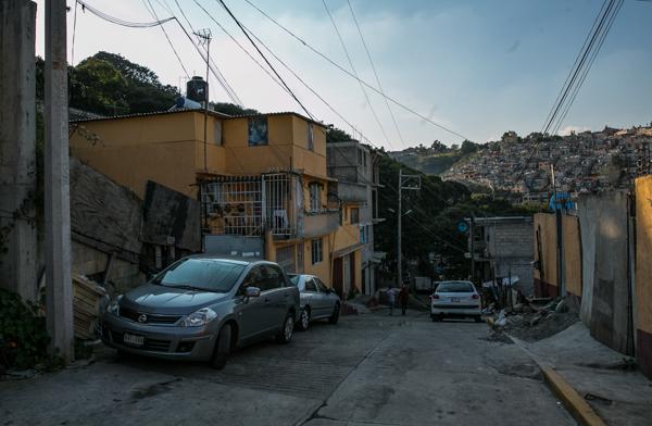 Calle Tlali, en San Mateo / Foto: Lulú Urdapilleta