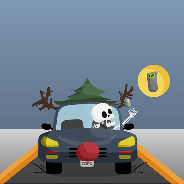 En diciembre aumentan 20% los accidentes automovilísticos en la Ciudad de México. Arte, Joselo Porras