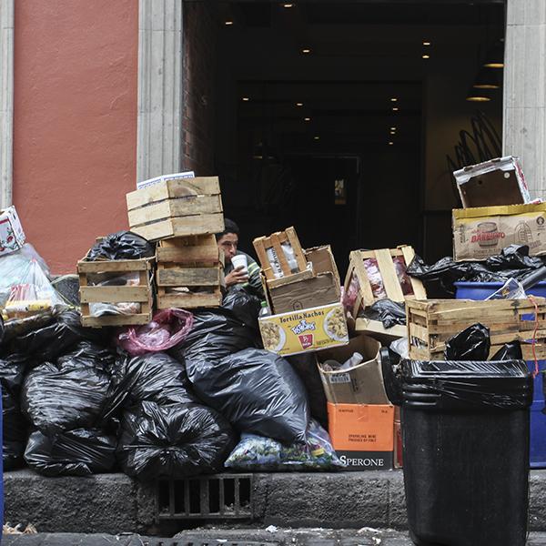 Diciembre y enero en los que se genera más basura en la CDMX, ya que los desperdicios aumentan hasta 30%. Foto, Cuartoscuro.