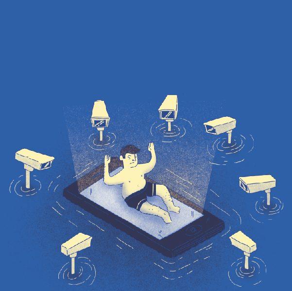 Vigilancia telefónica: autoridades de la CDMX están recibiendo información sobre celulares de ciudadanos, incluso sin permisos judiciales. Arte, Juan Billy