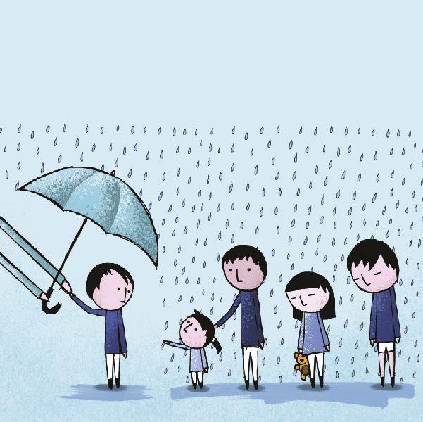 El estatus jurídico de un menor susceptible a una adopción puede disminuir sus posibilidades de hallar un hogar. Arte, Andree Ávalos
