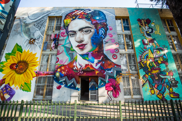 Corredor de Arte Urbano Buenavista-Guerrero. Lulú Urdapilleta 6