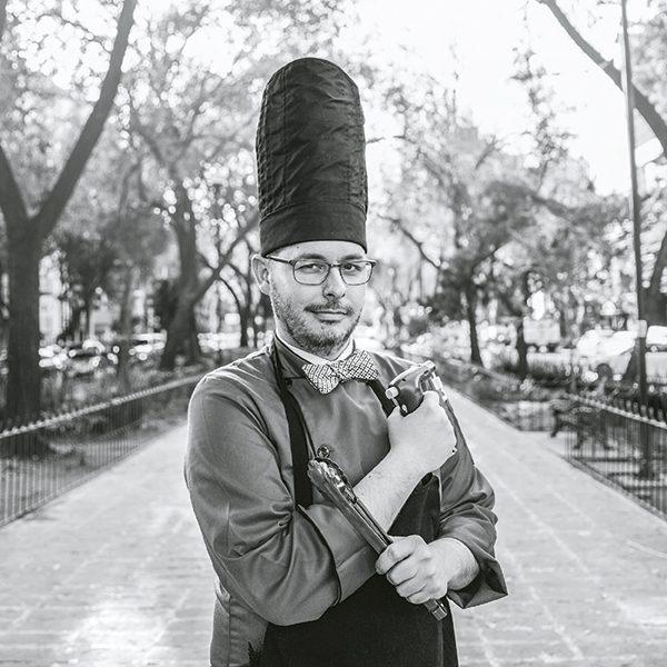 José Antonio Pérez-Robleda puso un restaurante clandestino en medio de la CDMX. Foto, Lulú Urdapilleta