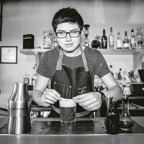 Daniel Reyes, su gusto por la coctelería empezó desde muy niño