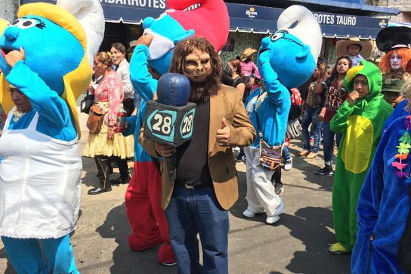 En la Ciudad de México tenemos varios carnavales