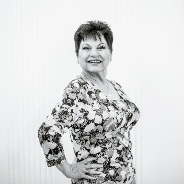 Lupita Sandoval una actriz muy chilanga