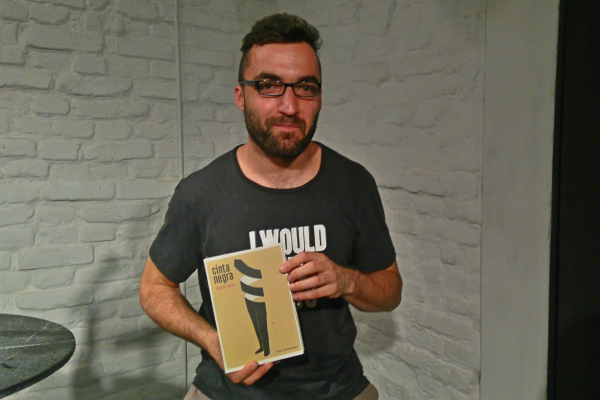 """Eduardo Barrasa presentó su nueva novela """"Cinta negra""""."""