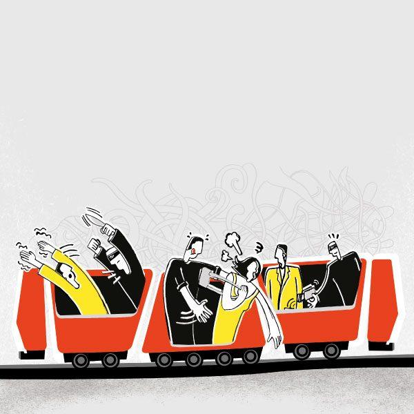 El metro más inseguro que nunca