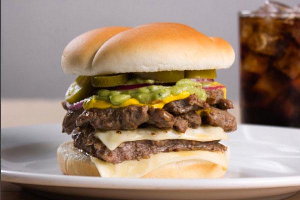 Burgerman probó las hamburguesas de Wendy's